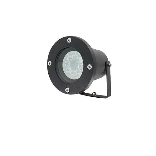 WIFI LED tuinspot 1x4Watt ZWART 220Volt IP65 dimbaar