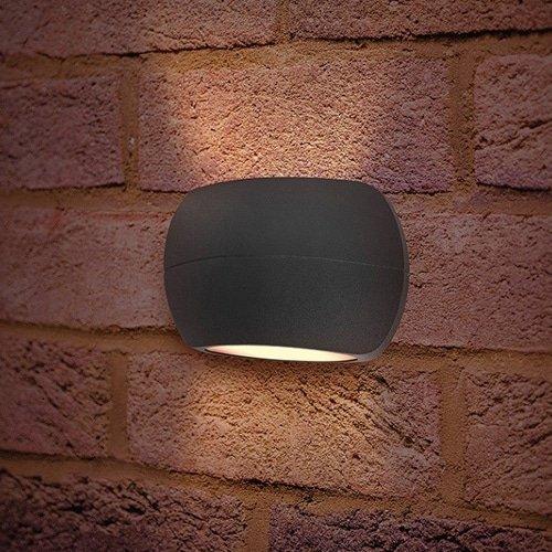 Wandlamp LED 8,5Watt GRIJS 220Volt IP54