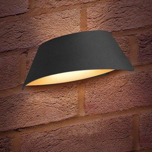 Wandlamp LED 9Watt GRIJS 220Volt IP54