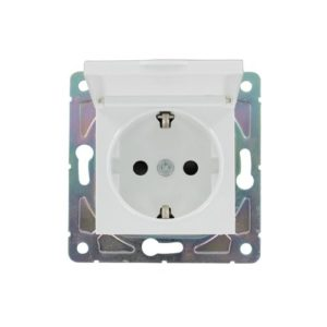 Waterdicht stopcontact IP54 Oslo wit