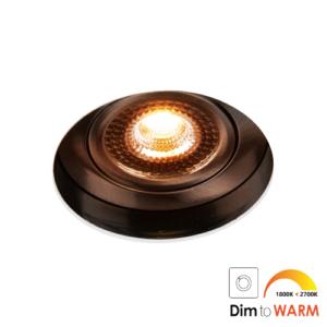 LED trimless spot kantelbaar 7Watt rond NIKKEL IP65 dimbaar – interne driver 2