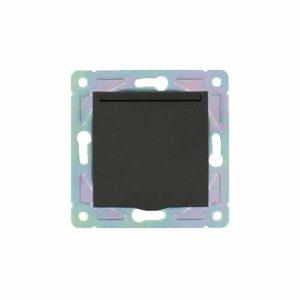 Waterdicht stopcontact IP54 Nero zwart