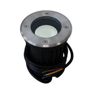 Wifi LED grondspot GU10 5,5Watt RGBW rond RVS dimbaar IP65