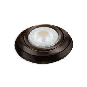 LED trimless spot kantelbaar 5Watt rond NIKKEL IP65 dimbaar – interne driver 1