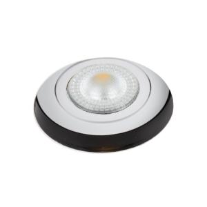 LED trimless spot kantelbaar 5Watt rond WIT IP65 dimbaar – interne driver 1