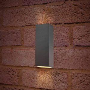 Wandlamp LED 8Watt GRIJS 220Volt IP54