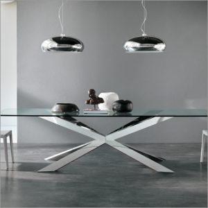 Cattelan Italia Spyder Glass Table, by Philip Jackson