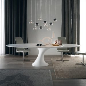 Cattelan Italia Reef Dining Table, By Piero De Longhi