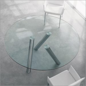 Cattelan Italia Ray Glass Table, by Pao Cattelan