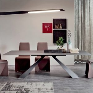 Cattelan Italia Eliot Glass Dining Table, by Giorgio Cattelan