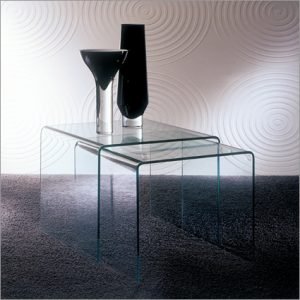 Bontempi Casa Igloo Glass Side Table