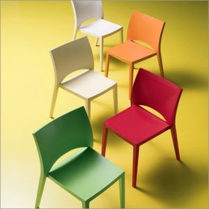 Bontempi Casa Aqua Dining Chair