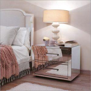 Porada Queen Bedside Table, by Opera Design