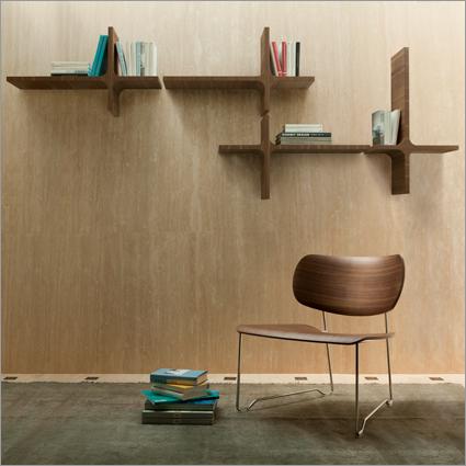 Porada Milo Wall Shelf, by M. Marconato & T. Zappa