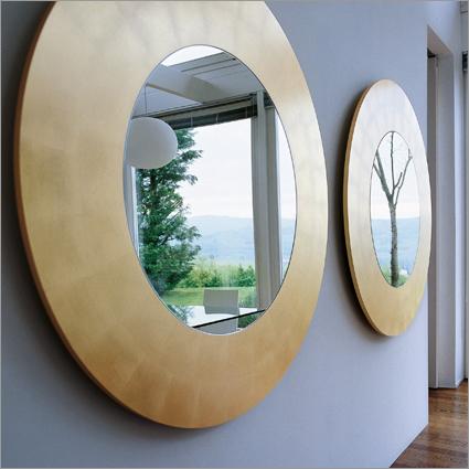 Porada Four Seasons Wall Mirror - Round, by Opera Design