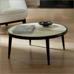 Porada Bigne Round Coffee Table, by E. Garbin & M. Dell&#39Orto