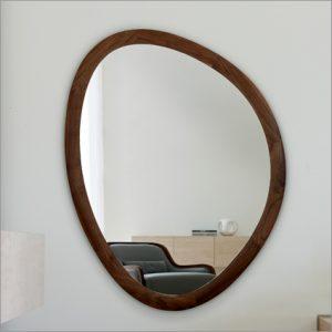 Porada Giolo Wall Mirror, by E. Garbin & M. Dell&#39Orto