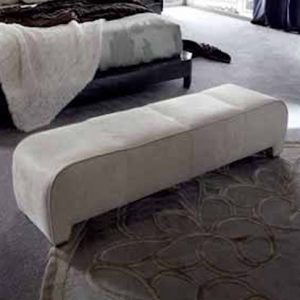 Giorgio Collection Absolute Bench in Fabric or Leather