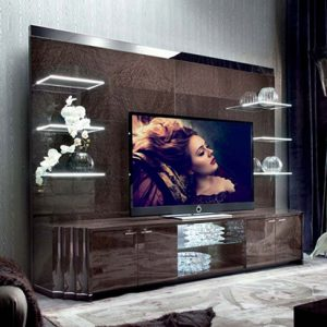 Giorgio Collection Absolute TV Media Unit with Back Panel