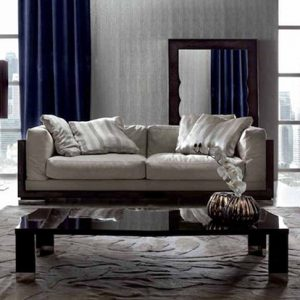 Giorgio Collection Absolute 2 and 3 Seater Sofa, Wooden Backed
