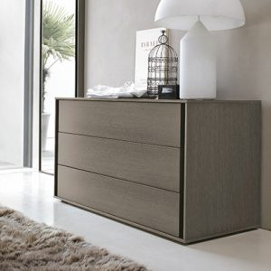 Mobili Domani VIP Chest of Drawers, 3 Drawers