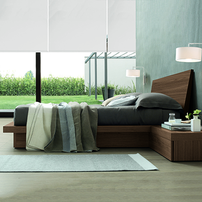 Mobili Domani Tang Wooden Continental Kingsize Bed