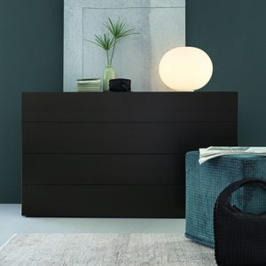 Mobili Domani Nap Chest of Drawers, 4 Drawer
