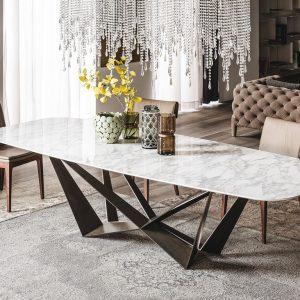 Cattelan Italia Skorpio Keramik Dining Table, by A. Lucatello