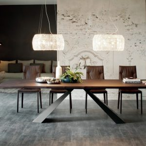 Cattelan Italia Eliot Wood Table, by Giorgio Cattelan