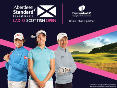 Dementia UK Announced as Official Charity of 2019 Aberdeen Standard Investments Ladies Scottish Open