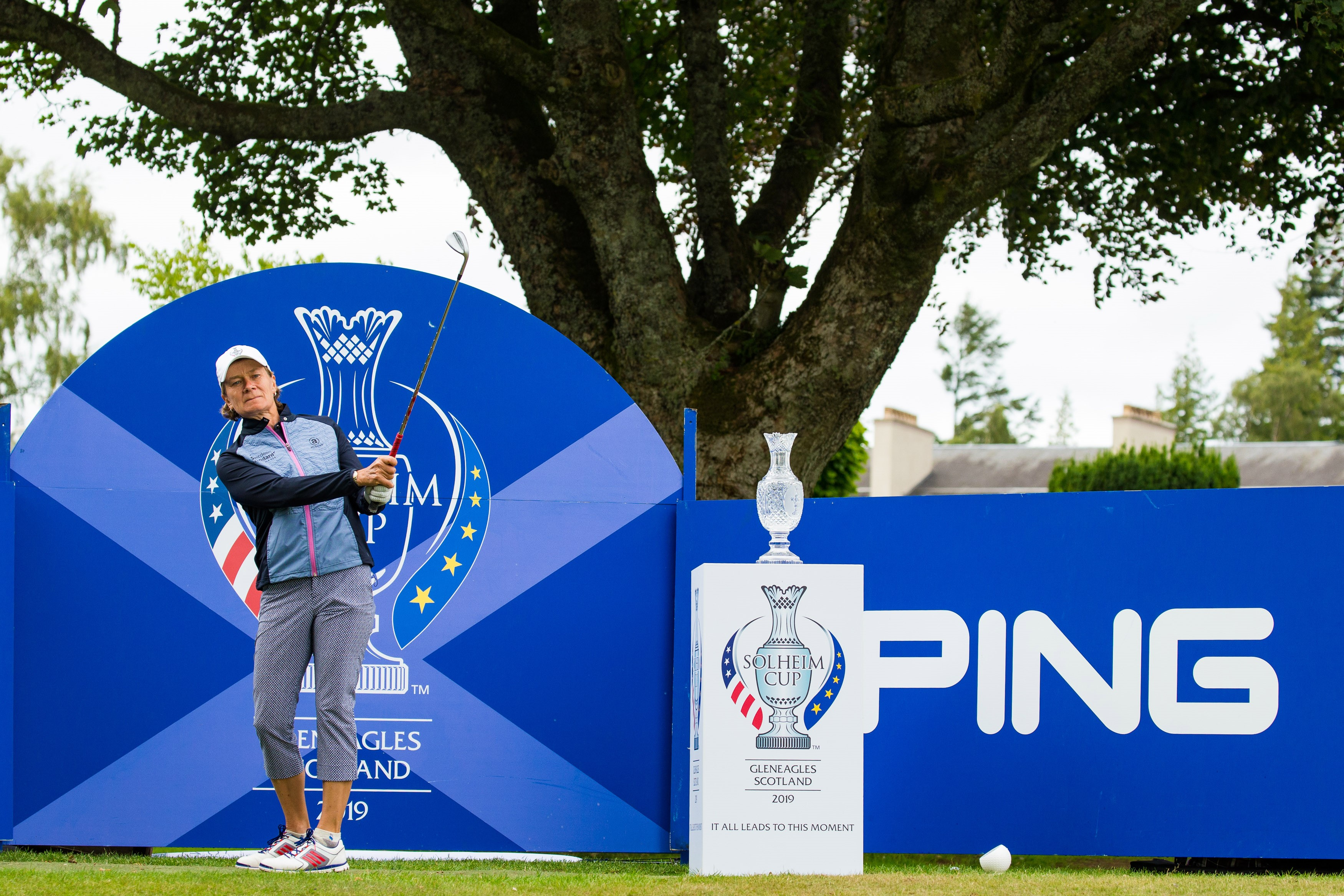 Solheim Cup 'Year to Go' Celebrations Continue