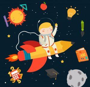 Küçük astronotların Büyük serüveni!