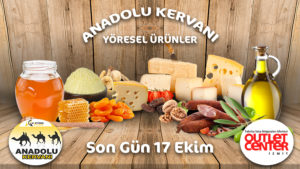 Anadolu Kervanı, Outlet Center İzmit'te!