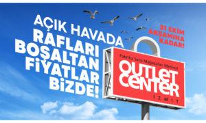 Açık Havada Rafları Boşaltan Fiyatlar Outlet Center İzmit'te!