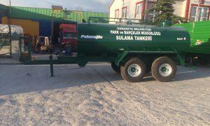 6 Ton Tandem Dingil Su Tankeri