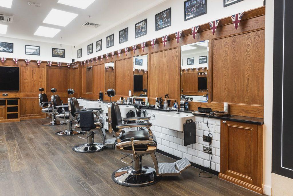 inside pall mall barbers birmingham