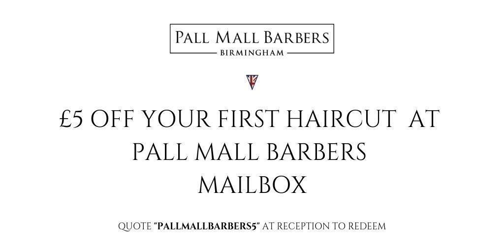 Men's barber in Birmingham