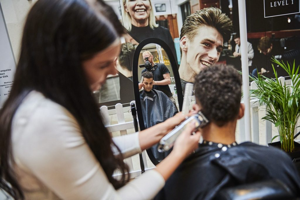 Barbers Mailbox Birmingham | Best Haircut for Men | Pall Mall Barbers