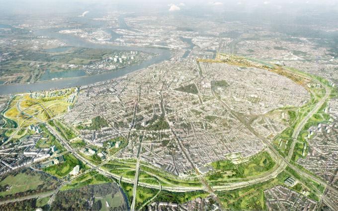 Groene Singel Antwerpen