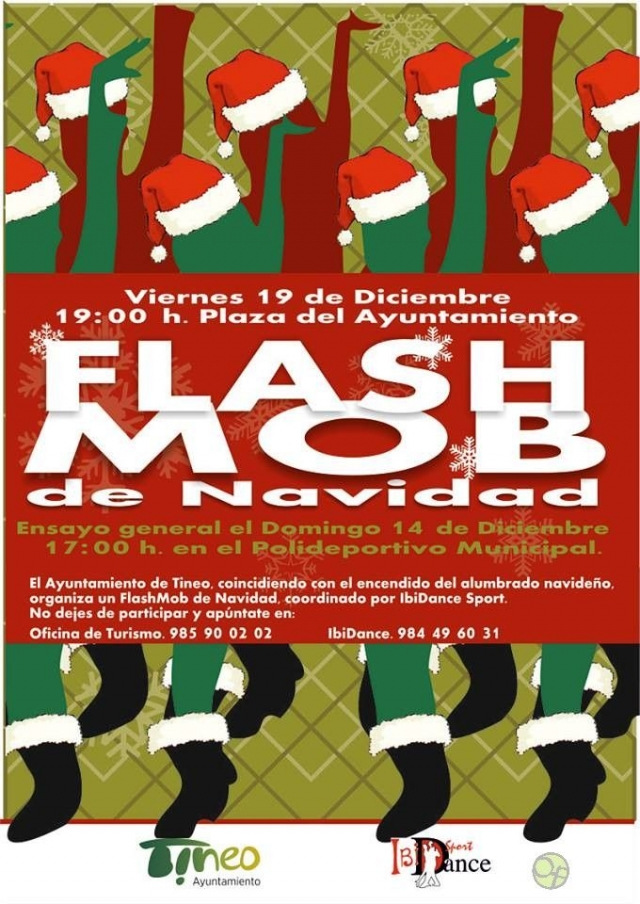 Flash Mob Navideño en Tineo