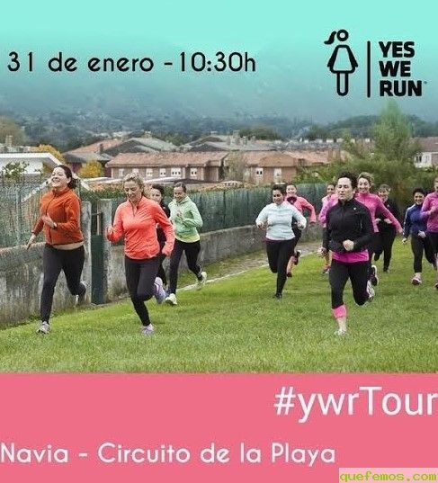 "En Navia ""Yes We Run"""