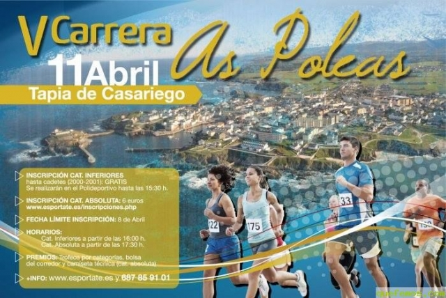 "V Carrera ""As Poleas"" Tapia de Casariego 2015"