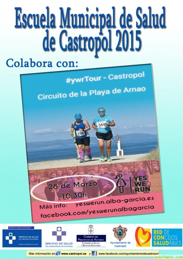 """Yes, We Run"" en Castropol"