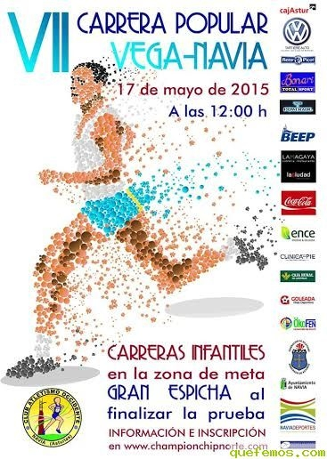 VII Carrera popular Vega-Navia 2015