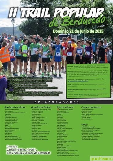 II Trail Popular de Berducedo 2015