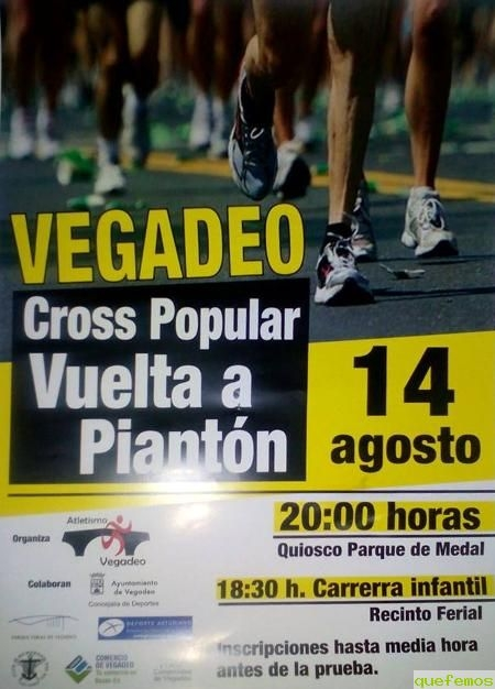 Cross popular Vuelta a Piantón 2015 en Vegadeo