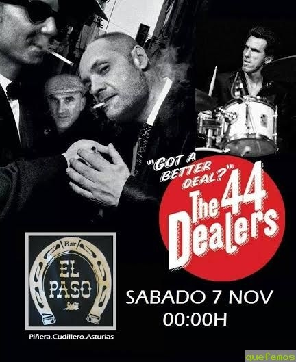 "Master Class y concierto de ""The 44 Dealers Band"" en El Paso"