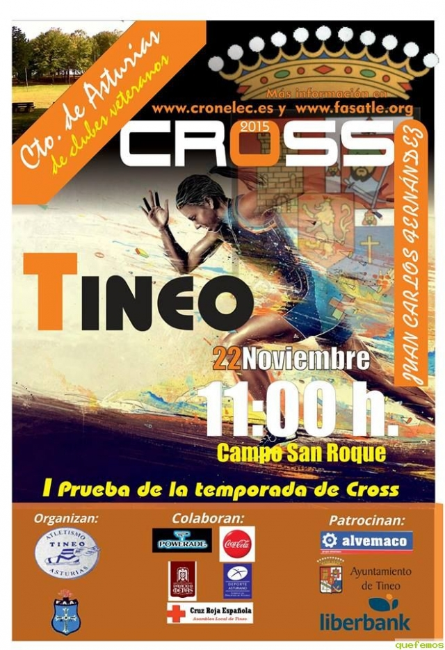 Cross Villa de Tineo 2015