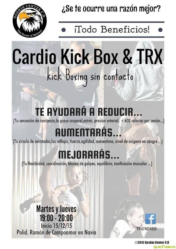 Cardio Kick Box & TRX en Navia con Goshin Center C.D.