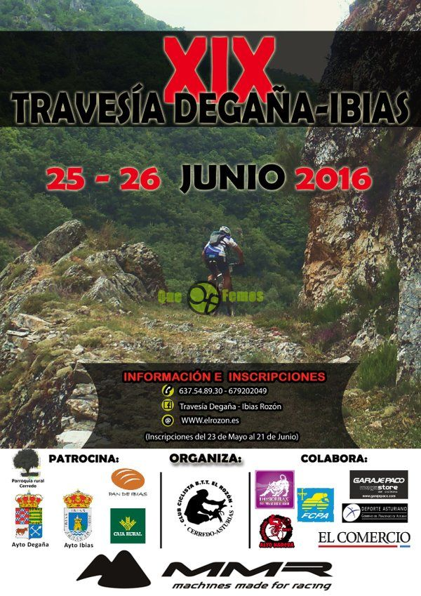XIX Travesía Degaña-Ibias BTT Mountain Bike 2016